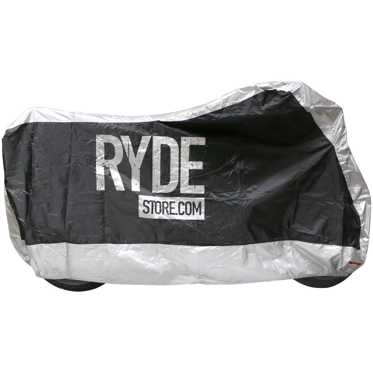 Ryde Silver/Black Waterproof Motorcycle Cover - Small