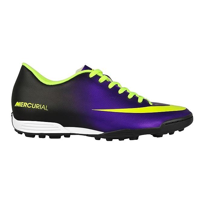 info for 91a8f 7e879 Nike Mercurial Vortex TF Fussballschuhe electro purple-volt-black - 45,5   Amazon.es  Deportes y aire libre