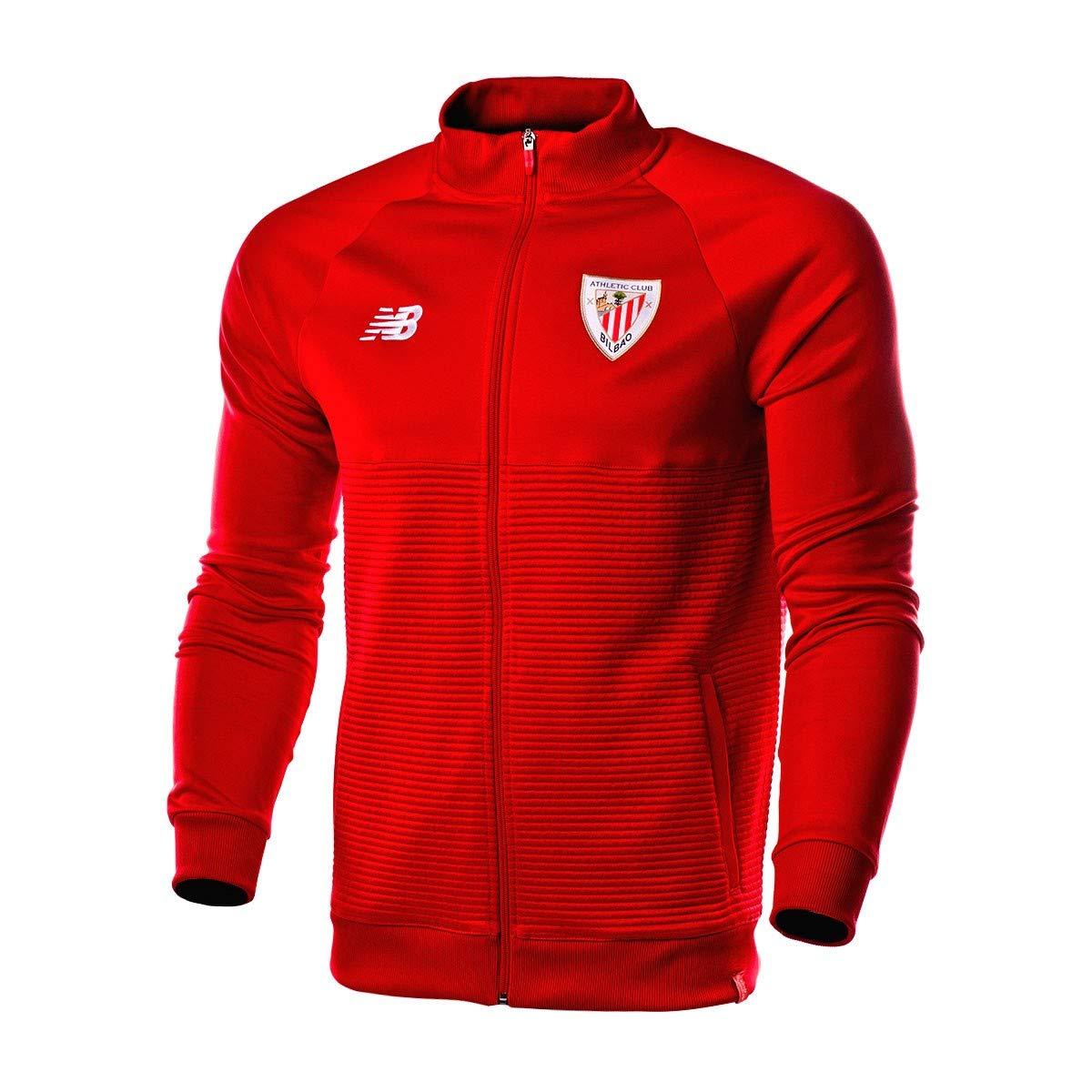 New Balance AC Bilbao Walkout 2018-2019, Chaqueta, Red, Talla XXL: Amazon.es: Deportes y aire libre
