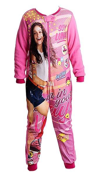 Soy Luna - Pijama de una pieza - para niña Rosa 4 años: Amazon.es: Ropa y accesorios