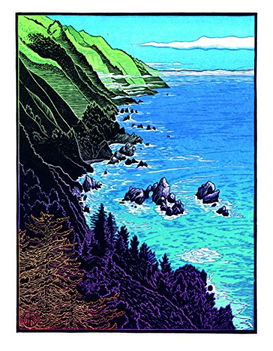 California's Wild Coast Note Card Box (cards)