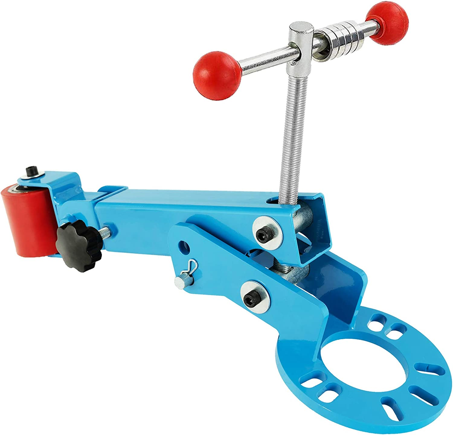 SUNCOO Fender Roller Tool Reforming Extending Auto Body Wheel Arch Lip Rolling Flaring Former Remove Tire Rub Heavy Duty Coated Steel Blue