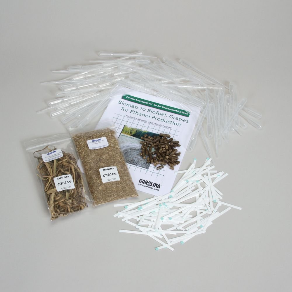 Carolina Investigations for AP Environmental Science: Biomass to Biofuel: Grasses for Ethanol Production 8-Station Refill (with prepaid Coupon)