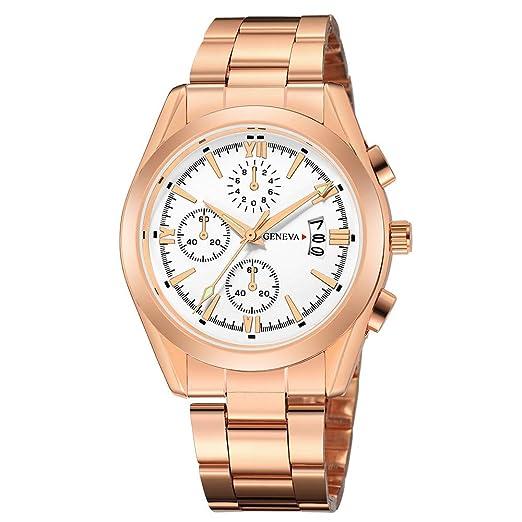 Relojes Pulsera Hombre,BBestseller Moda Impermeable Negocios Reloj Cinturón de Malla Pulseras de Deportivos Podómetro