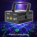 SUNY Z12R-RGB300 Decorative 12 Gobos Projector RGB Stage Laser Light Red Green Blue Stage Lighting DJ Disco Show Party Laser