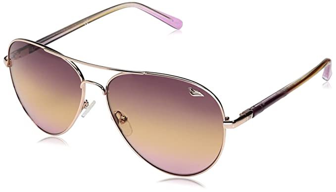 861cfddaa7845 Image Unavailable. Image not available for. Color  Diane Von Furstenberg  Women s DVF120S Katrina Aviator Sunglasses