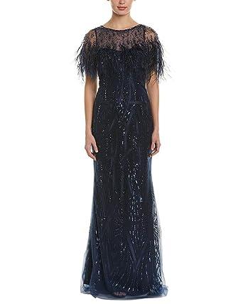 1cff896be5add Amazon.com  Teri Jon Womens by Rickie Freeman Gown