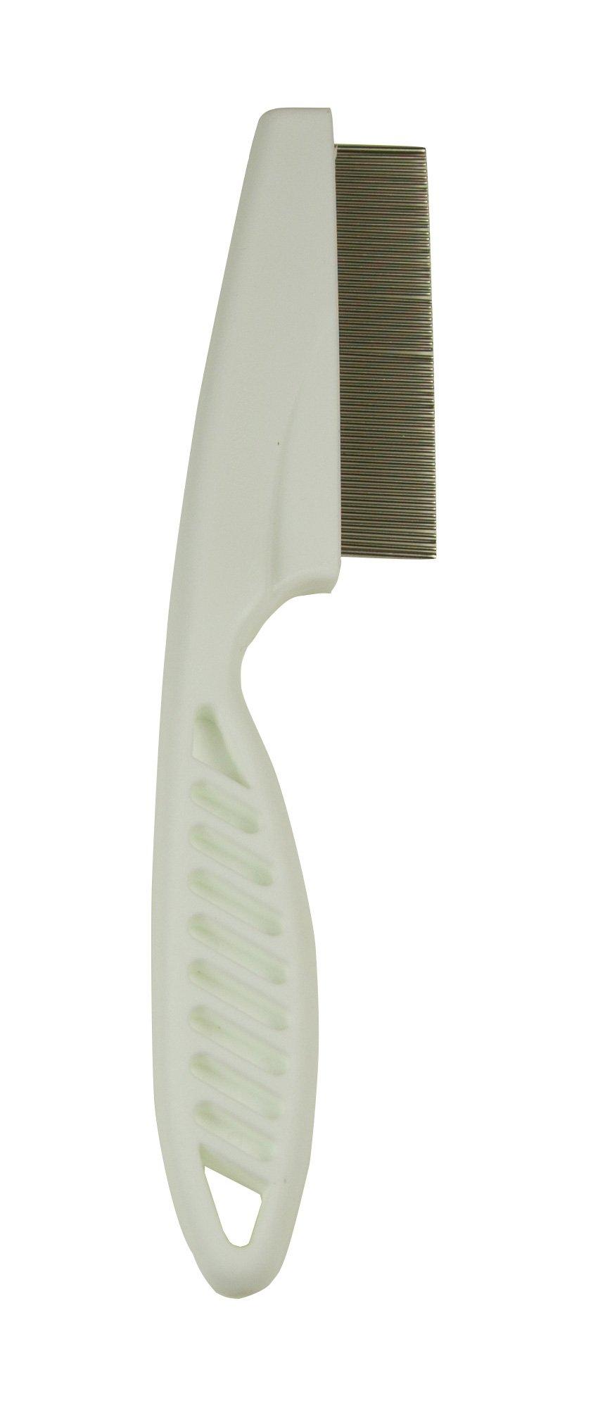 Petcessory Flea Comb, White, Small