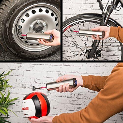 f/ür Auto Motorrad Fahrrad und B/älle oasser 4er Set Ventiladapter