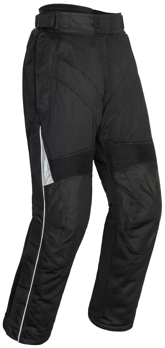 Tourmaster Venture Air 2.0 Men's Textile Motorcycle Pant (Black, Short Medium) by Tourmaster
