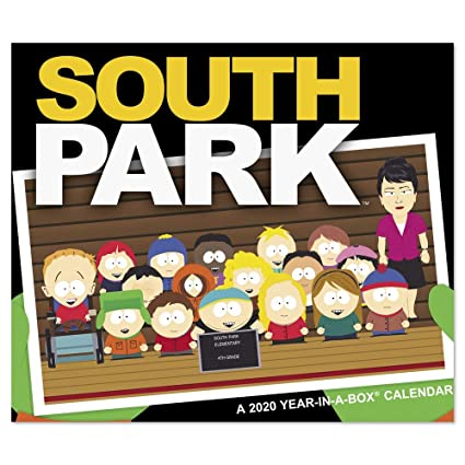 New South Park Season 2020 Amazon.: 2020 South Park Year In A Box Calendar (LMB1160020