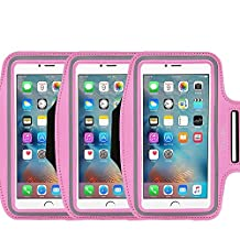 3Pack Armband for Apple iPhone 7,7 Plus,6 6s Plus, LG G5,Samsung Galaxy Note 5 4 3 Note Edge S4 S5 S6 LG G3 G4 G5 Note 4 5 7 Universal case,Great for Running,Exercise Gym Workouts not for iphone 4 4s