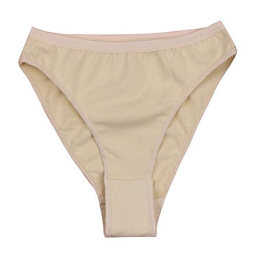 c7dea0a988 Freebily Girls Professional Ballet Dance Briefs Shorts Gymnastics High Cut Knickers  Underpants Underwear Nude 2