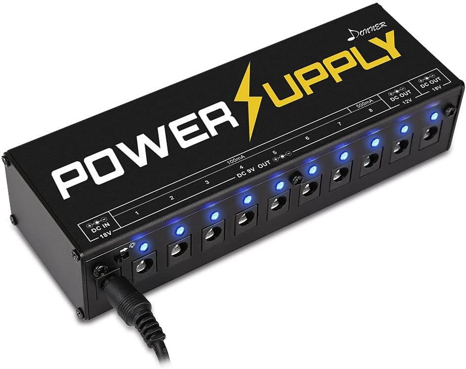 Best Power Supply 2020.Top 10 Best Guitar Pedal Power Supply Reviews In 2020