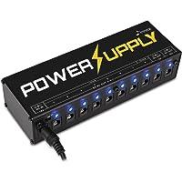Donner Dp-1 Guitar Pedal Power Supply 10 Isolated DC Output for 9V/12V/18V Effect Pedal AU Plug