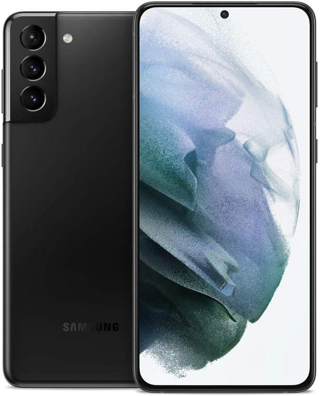 Samsung Galaxy S21+ Plus 5G   Factory Unlocked Android Cell Phone   US Version 5G Smartphone   Pro-Grade Camera, 8K Video, 12MP High Res   128GB, Phantom Black (SM-G996UZKAXAA)