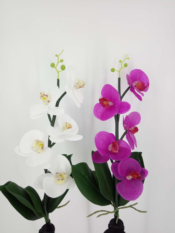 Orchid Solar Flower, LED Solar Flower, LED Light, Outdoor Light,LED (Pink)