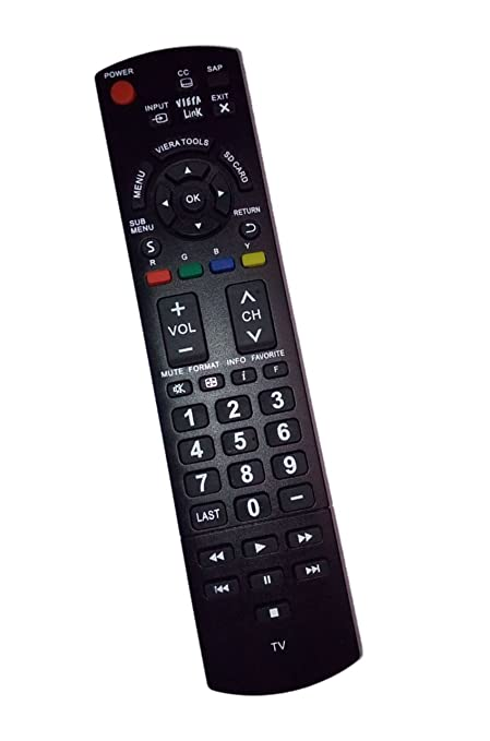 Amazon. Com: replaced remote control compatible for panasonic tc.