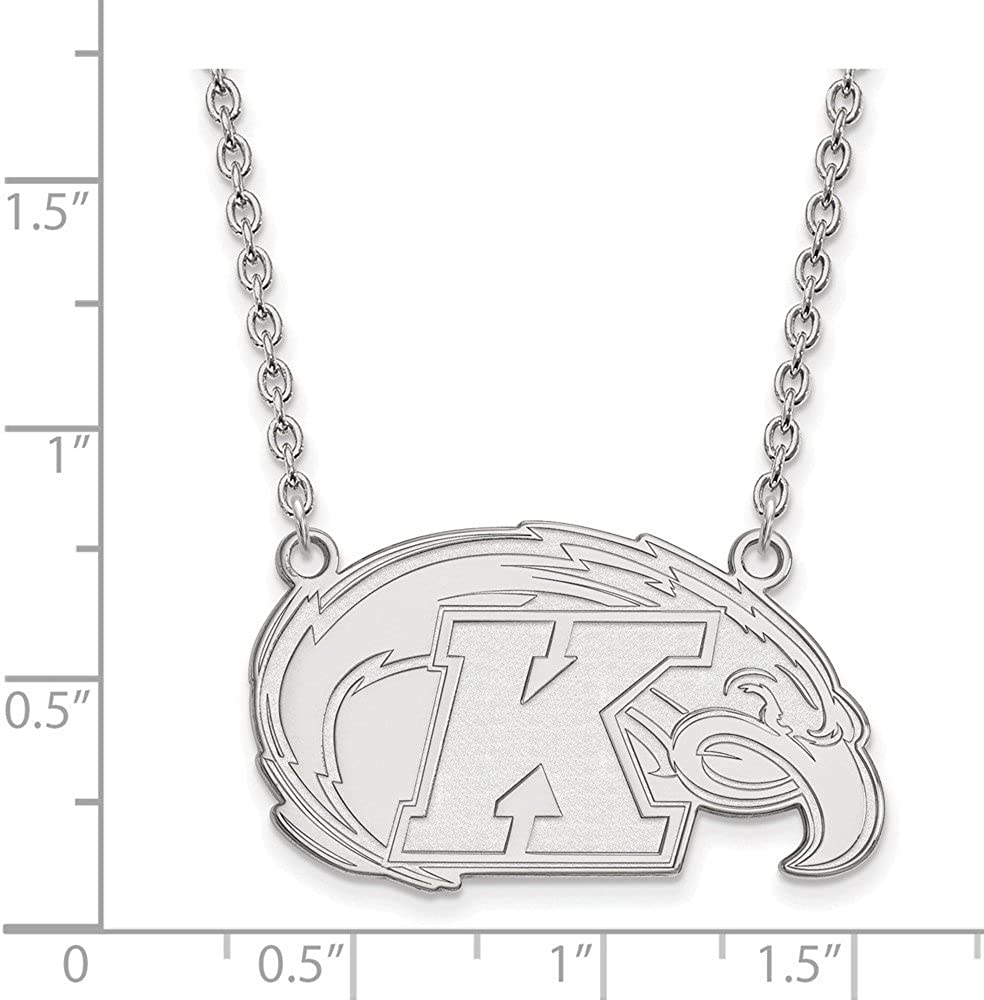 Mia Diamonds 925 Sterling Silver OH State Pendant Charm