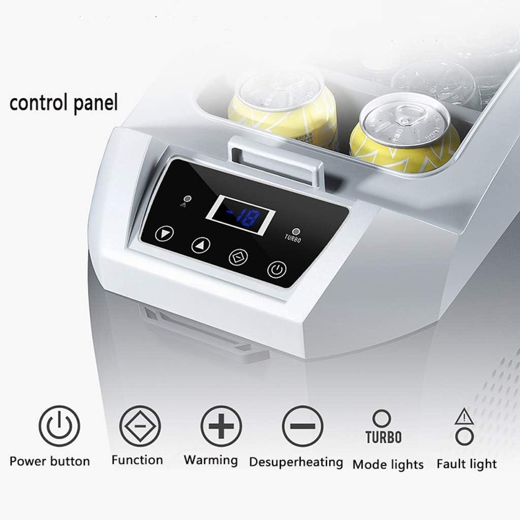 HFA Refrigerador-compresor portátil Refrigerador/congelador, 12 V / 24 V / 220V - Gris/Blanco / 17L