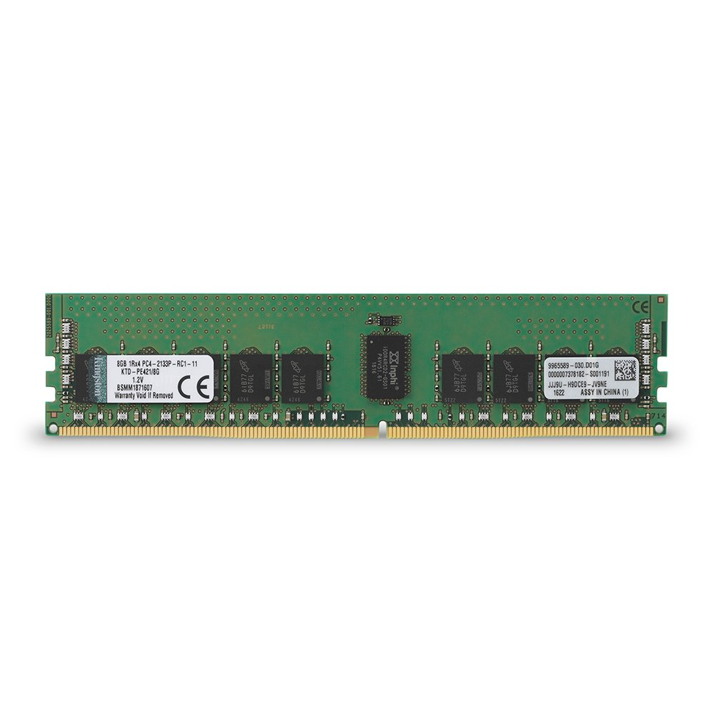 Kingston KTD-PE421/8G - Memoria especifica para servidor Dell DDR4 de 8 GB (2133 MHz Reg ECC)