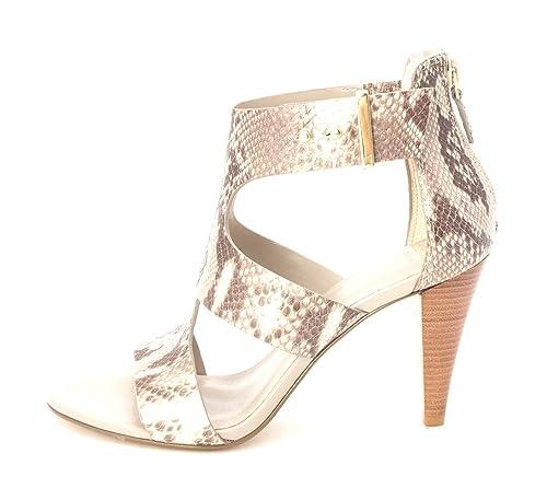 Cole Haan Womens Keziahsam Open Toe Casual Ankle Strap Grey Snakeskin Size 60