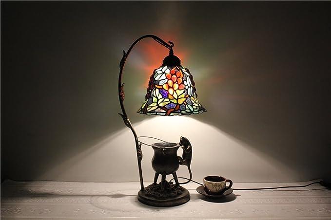 Shopping-perlas de vidrio de 9 pulgadas vid lámpara de ...