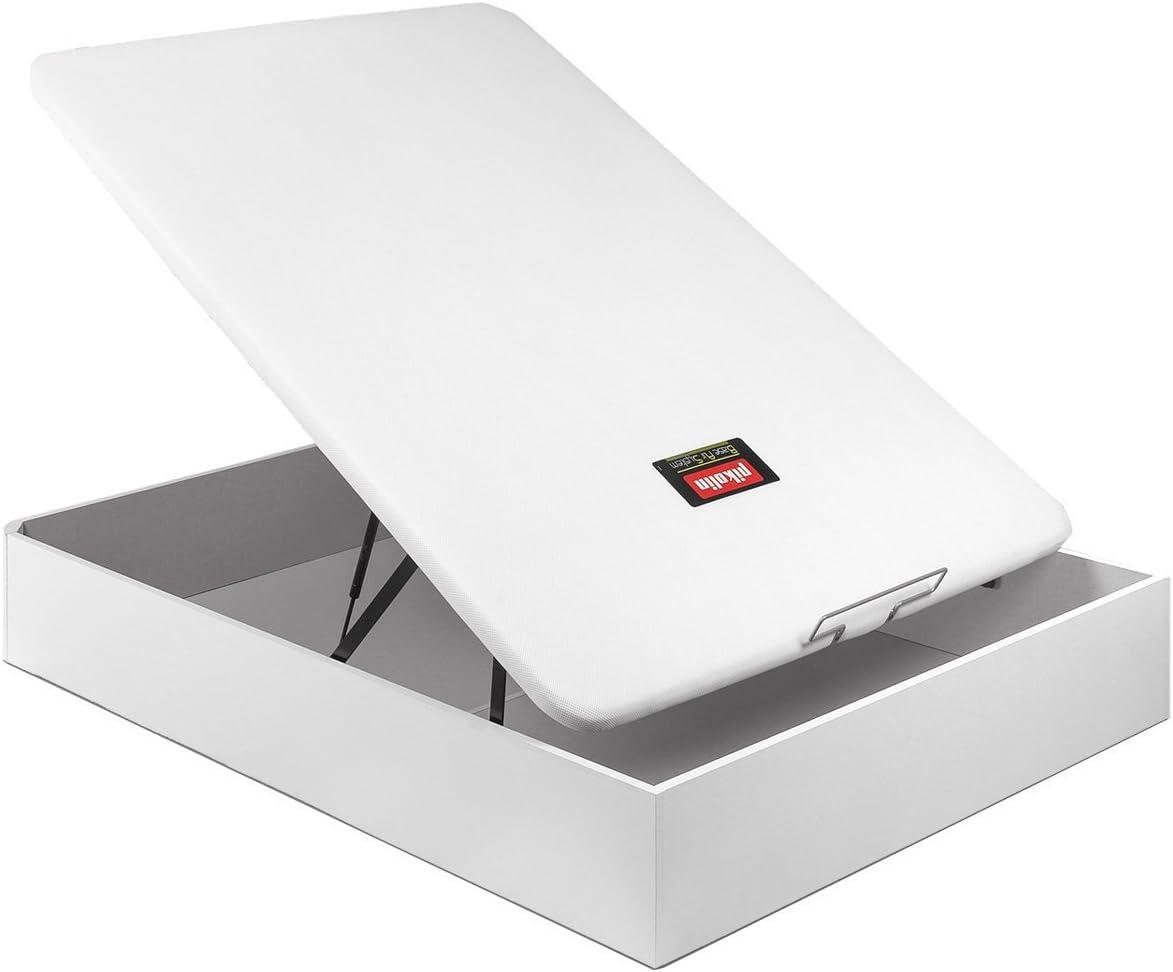 PIKOLIN CANAPÉ ABATIBLE NATURBOX Madera 3D - (150_x_190_cm, Blanco)