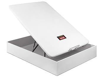 Pikolin CANAPÉ ABATIBLE NATURBOX MADERA 3D -(150_x_200_cm, Blanco): Amazon.es: Hogar