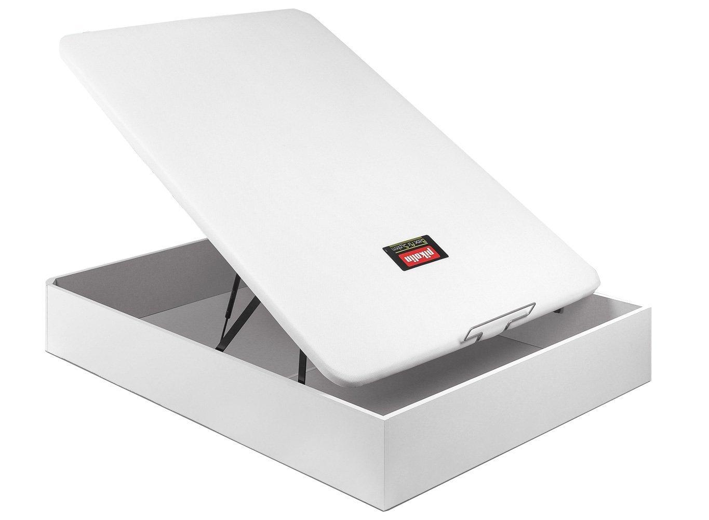 Pikolin CANAPÉ ABATIBLE NATURBOX MADERA 3D - (135_x_190_cm, Blanco)