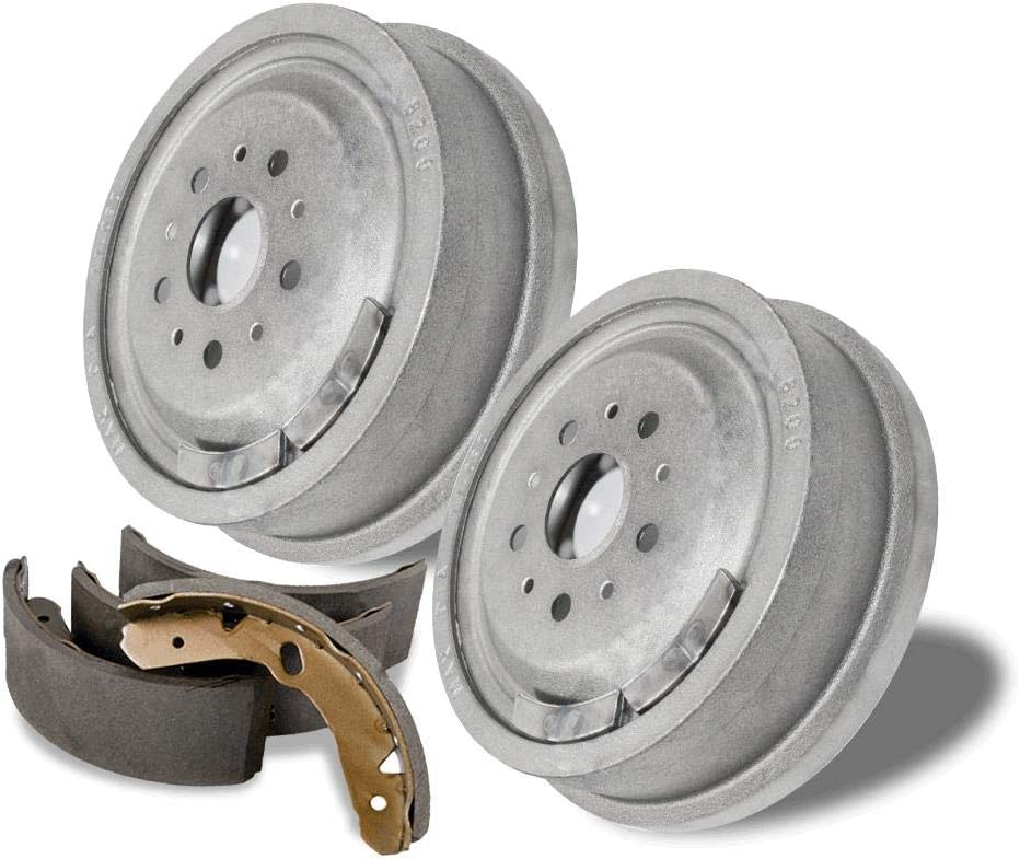 Rear Brake Drums and Shoes OE Replacement for Ford Escape Mazda Tribute