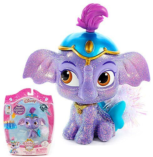Disney Princess Palace Pets Whisker Haven Taj the Elephant with Super Glittery Cape