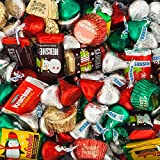 25 Lb Hershey Kisses Best Deals - Bulk Christmas Chocolates - Hershey's Miniatures, Kisses and Reese's Christmas Assortment (25 lb Bag)