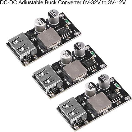 USB Power Supply Module 6V-32V 12V 24V to QC2.0 QC3.0 Fast Charger Iphone Mobile
