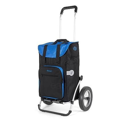 Andersen Carro de compra Royal con bolsa Wismar negra, volumen 45L, bolsa termica y