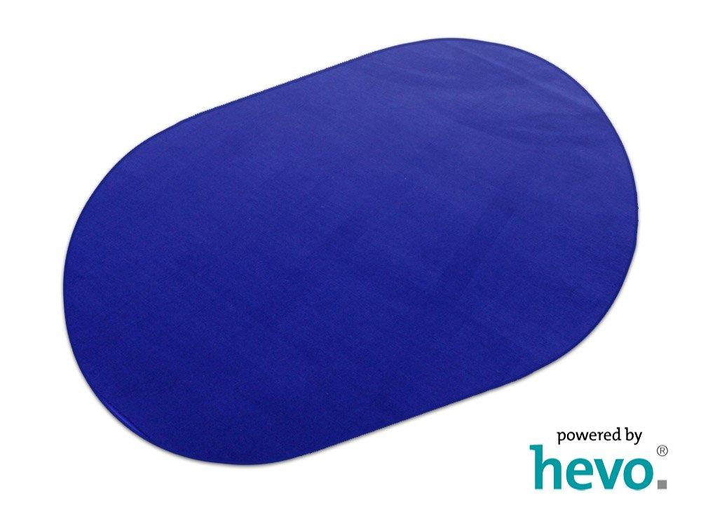 Romeo blau HEVO® Teppich | Kinderteppich | Spielteppich 200 cm Ø Ø cm Rund af2759
