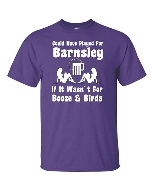Podría Haber jugado de Barnsley Si no fuera por diseño de camiseta de fútbol Booze y