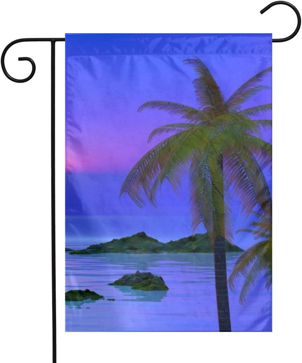 LQLDHJ 652 Garden Flag Stand Banner Outdoor Decor for Homes Gardens 12 X 18 Inches