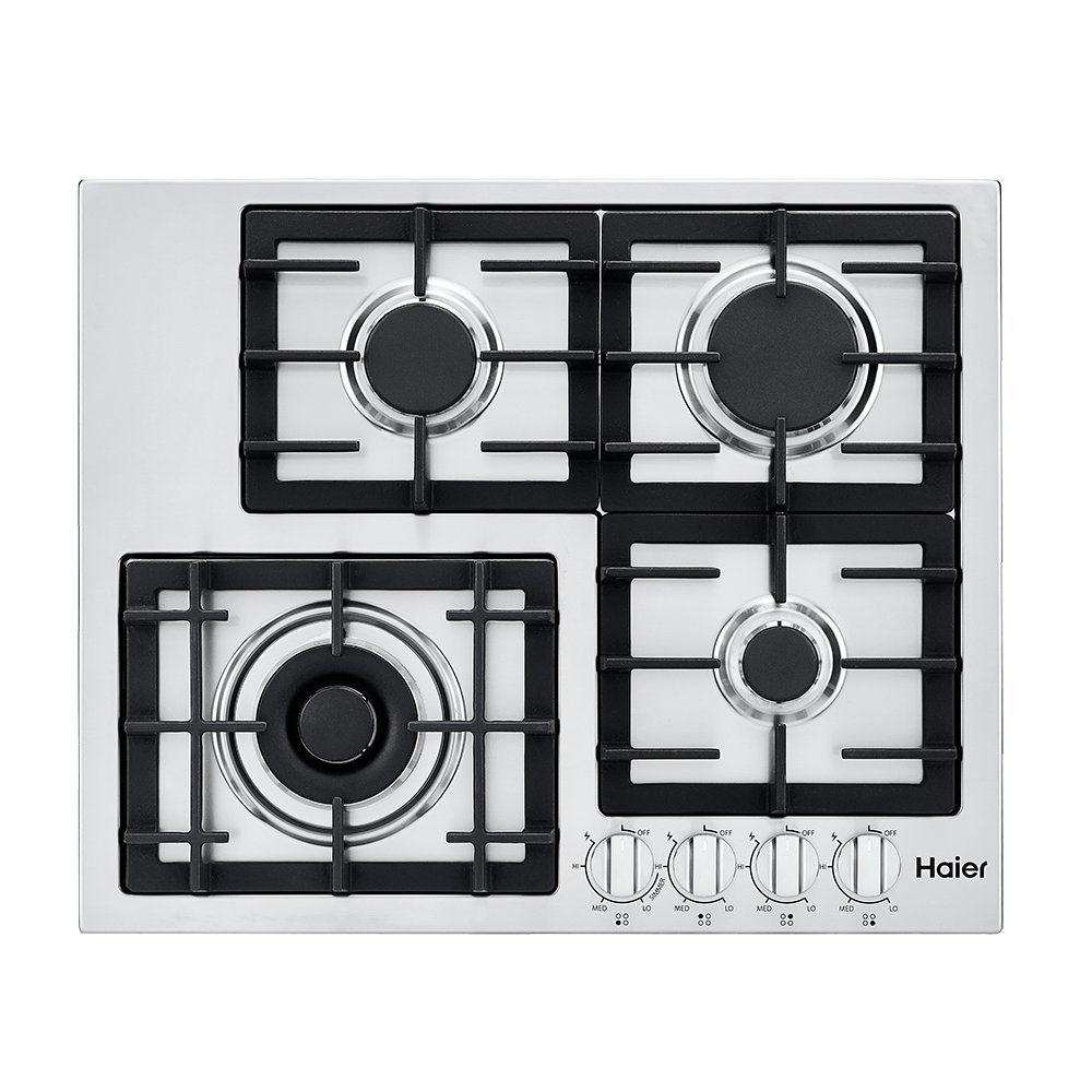 """24.5"""" Gas Cooktop with 4 Burners"""