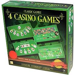 Merchant Ambassador Classic Collection-4 Casino Set 4, Games