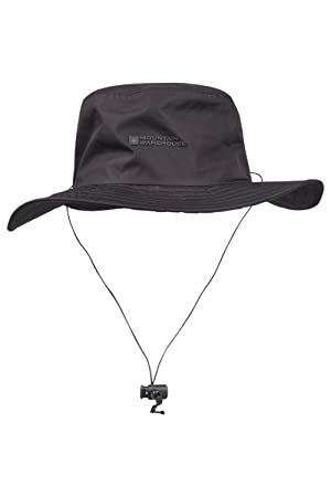 Mountain Warehouse Australian Wide Brimmed Waterproof Hat - UPF50+ UV  Protection 6bf6f230e39