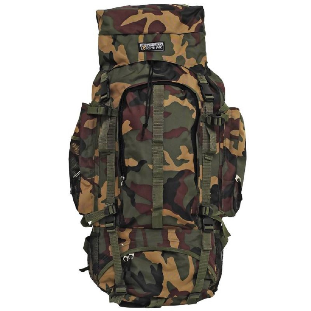 Extreme Pak™ Invisible® Pattern Camouflage Water-Resistant, Heavy-Duty Mountaineer's Backpack by BF001