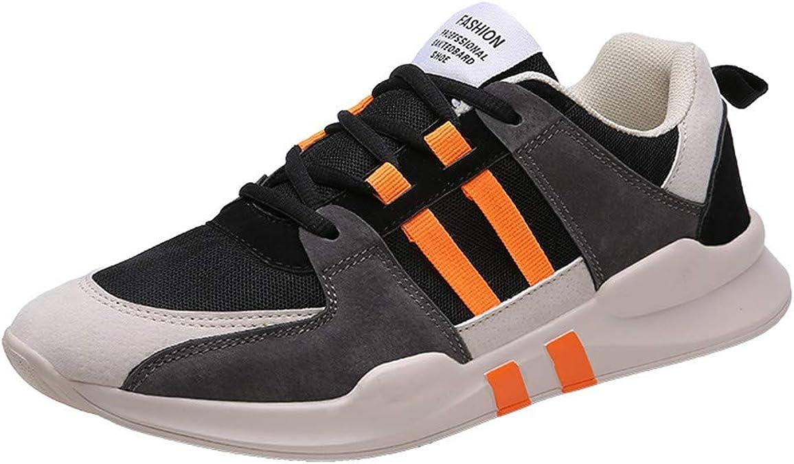 Scenxion - Zapatillas de deporte para hombre, color Naranja, talla ...