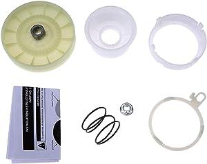 W10721967 Washer Pulley Clutch Kit, Replace # AW10006356 W10315818 PS10057144 W10006352 W10006353 W10006354 W10006382 W10326374 W10536113, Compatible with Whirlpool, Kenmore, KitchenAid