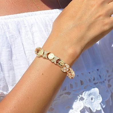Gold Plated Charm Bracelets for Women