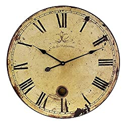 Large Vintage Wall Clocks Imax 23 Wall Clock in Antique
