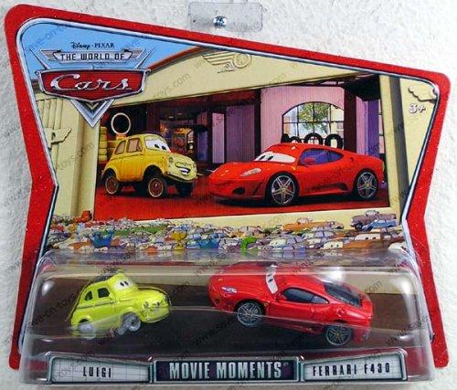 Mattel Cars Movie Moments Luigi & Ferrari (Luigi Ferrari Fans)