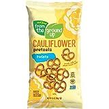Real Food From The Ground Up Vegan Pretzels, Gluten Free, Non-GMO, 6 Pack (Cauliflower, Twists)