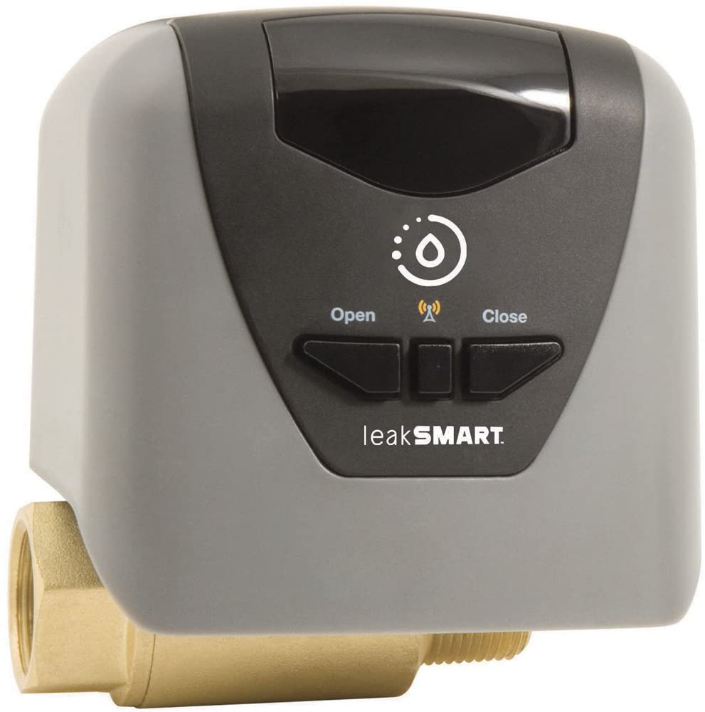 Leaksmart Automatic Water Shut Off Valve- Compatible Smart Home Hub and Sensors Required for Use Sold Separately (3/4 Inch Valve)