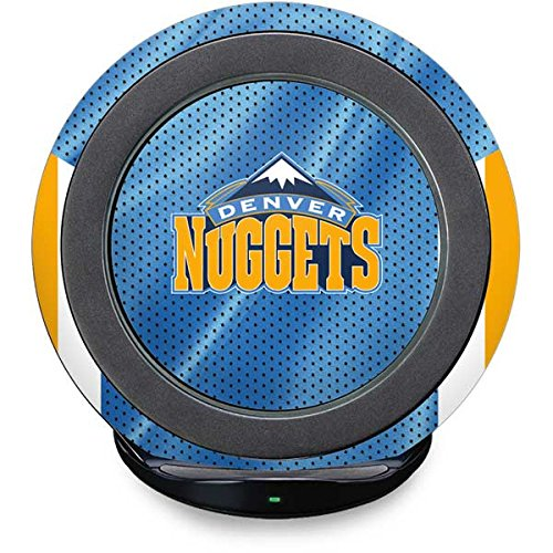 Denver Nuggets Fast Charge Wireless Charging Stand Skin - Denver Nuggets | NBA X Skinit (Nugget Pedestal)